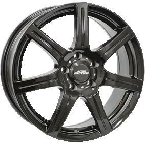 alloy wheel INTER ACTION SIRIUS schwarz glanz 15 inches 4x108 PCD ET42 IT60956034263BF