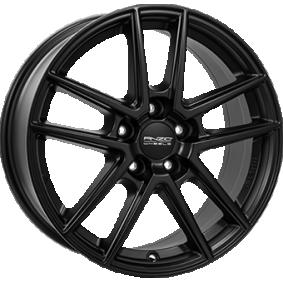 alloy wheel ANZIO SPLIT Matte black/polished 15 inches 5x100 PCD ET38 SPL60538V74-5