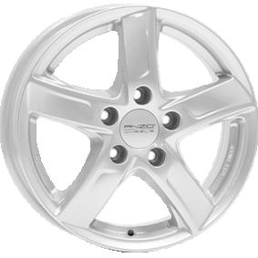 alloy wheel ANZIO SPRINT brilliant silver painted 15 inches 5x100 PCD ET42 SPT60542V71-0