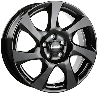 CMS C24 schwarz glanz alloy wheel 6,0xR15 PCD 5x100 ET43 d57,1