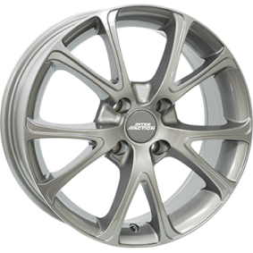Alufelge INTER ACTION PULSAR Grau Glanz 15 Zoll 5x112 PCD ET42 IT63156084257GF