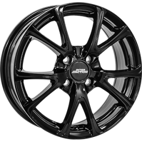 Alufelge INTER ACTION PULSAR schwarz glanz 15 Zoll 5x112 PCD ET42 IT63156084257BF