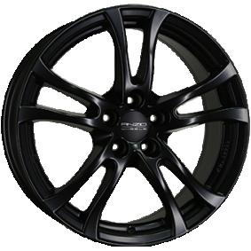 alloy wheel ANZIO TURN Matte black/polished 15 inches 4x100 PCD ET38 TU65538A24