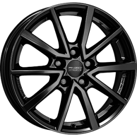 alloy wheel ANZIO VEC schwarz glanz 16 inches 5x100 PCD ET45 VEC60645V72-6