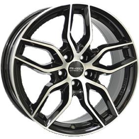 alloy wheel ANZIO SPARK Schwarz Glanz / Poliert 16 inches 5x105 PCD ET38 SKE65638O83-1