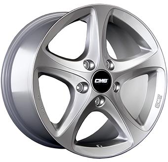 CMS C12 brilliant silver painted alloy wheel 6,5xR16 PCD 5x105 ET39 d56,6