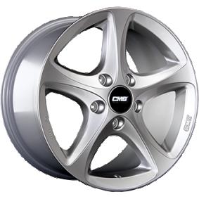 alloy wheel CMS C12 brilliant silver painted 16 inches 5x105 PCD ET39 C12 656 39 95 CS