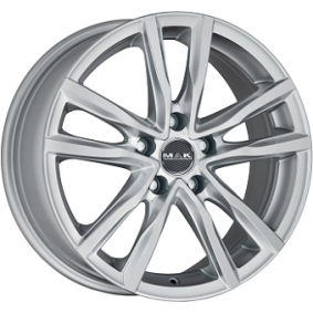 alloy wheel MAK MILANO brilliant silver painted 16 inches 5x108 PCD ET40 F6560MISI40GG2X