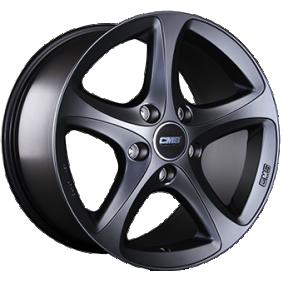 alloy wheel CMS C12 Matte black/polished 16 inches 5x114 PCD ET43 C12 656 43 10 MB