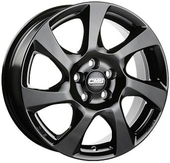 CMS C24 schwarz glanz alloy wheel 6,5xR16 PCD 5x114 ET45 d67,1