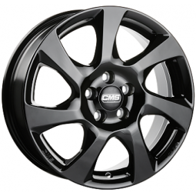 alloy wheel CMS C24 schwarz glanz 16 inches 5x114 PCD ET45 C24 656 45 10 CBG