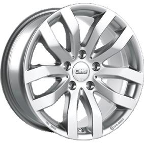 alloy wheel CMS C22 brilliant silver painted 16 inches 5x114 PCD ET50 C22 656 50 10 SR
