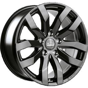 alloy wheel CMS C22 schwarz glanz 16 inches 5x114 PCD ET50 C22 656 50 10 CBG
