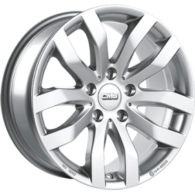 алуминиеви джант CMS брилянтно сребърно боядисани 16 инча 5x120 PCD ET40 C22 706 40 16S SR