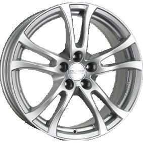 alloy wheel ANZIO brilliant silver painted 17 inches 5x110 PCD ET35 TU75735O11