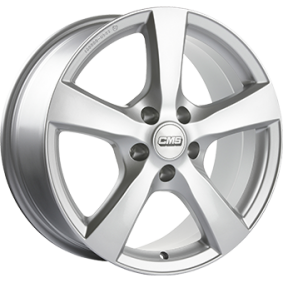 alloy wheel CMS V1 brilliant silver painted 17 inches 5x112 PCD ET29 V1 767 29 91S CS