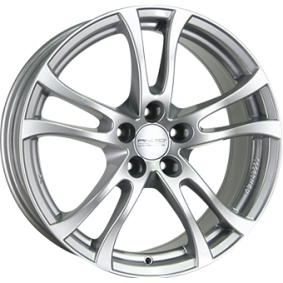 alloy wheel ANZIO TURN brilliant silver painted 17 inches 5x115 PCD ET42 TU75742G51