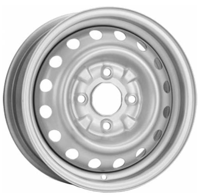 KRONPRINZ STAAL Brillantsilber lackiert Stahlfelge 5,5xR14 PCD 4x114 ET45 d66,1