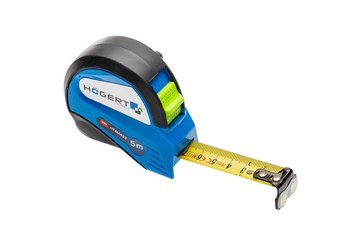 Rolmaat, meetband HT4M433 Hogert Technik HT4M433 van originele kwaliteit