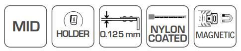 Rolmaat, meetband Hogert Technik HT4M434 waardering