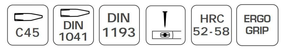 Martelo de bola Hogert Technik HT3B008 classificação