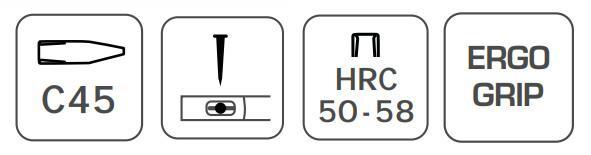Martelo de bola Hogert Technik HT3B034 classificação