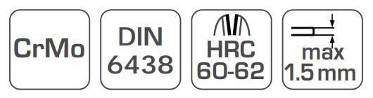 Blechschere Hogert Technik HT3B502 Bewertung