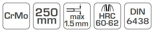 Blechschere Hogert Technik HT3B505 Bewertung