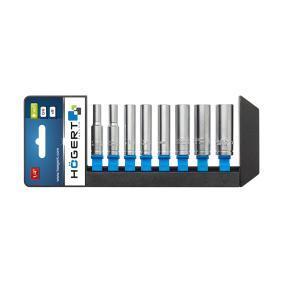 Kit de llaves de cubo Ancho llave: 5.5, 6, 7, 8, 9, 10, 12, 13