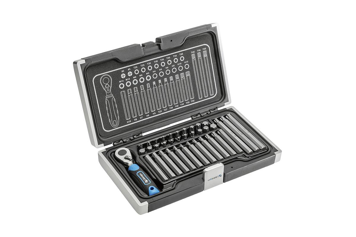 Hogert Technik  HT1R466 Werkzeugsatz