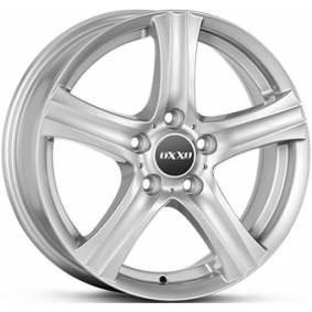alloy wheel OXXO CHARON brilliant silver painted 14 inches 5x100 PCD ET35 RG14-501435-V6-07