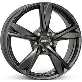 lichtmetalen velg OXXO MIMAS BLACK (OX12) Mat zwart/gepolijst 15 inches 4x100 PCD ET35 OX12-601535-X2-53