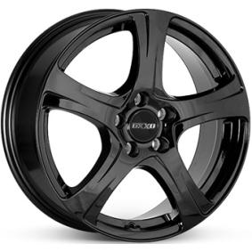 alloy wheel OXXO NARVI schwarz glanz 16 inches 4x108 PCD ET25 OX03-651625-PE-03
