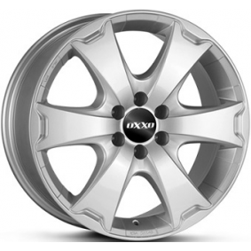 alloy wheel OXXO AVENTURA brilliant silver painted 16 inches 6x139 PCD ET55 OX13-701655-F7-07