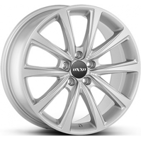 alloy wheel OXXO LIBERTY brilliant silver painted 17 inches 5x112 PCD ET40 OX17-701740-V7-07