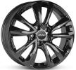 OXXO OBERON 5, 17tuumaa, schwarz glanz, 5-aukko, 114mm, alumiinivanne OX08-701745-H3-03