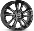 OXXO OBERON 5, 17tum, schwarz glanz, 5-hål, 114mm, aluminiumfälg OX08-701745-H3-03
