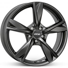 alloy wheel OXXO MIMAS Matte black/polished 17 inches 5x120 PCD ET39 OX12-701739-W5-53