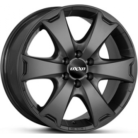 alloy wheel OXXO AVENTURA Matte black/polished 17 inches 6x114 PCD ET30 OX13-751730-N2-53