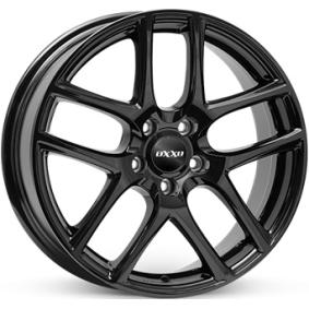 alloy wheel OXXO VAPOR schwarz glanz 19 inches 5x114 PCD ET42 RG12-801942-W4-03