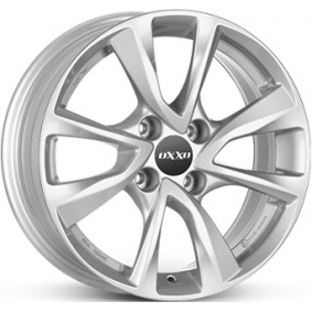 alloy wheel OXXO OBERON 4 brilliant silver painted 15 inches 4x100 PCD ET39 OX07-601539-O1-07