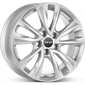 alloy wheel OXXO OBERON 5 brilliant silver painted 16 inches 5x114 PCD ET38 OX08-651638-M5-07