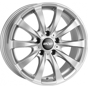 alloy wheel OXXO RACY brilliant silver painted 19 inches 5x120 PCD ET48 RG11-901948-B2-07