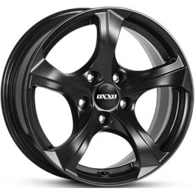 alloy wheel OXXO BESTLA Matte black/polished 16 inches 5x120 PCD ET34 OX02-701634-B1-53