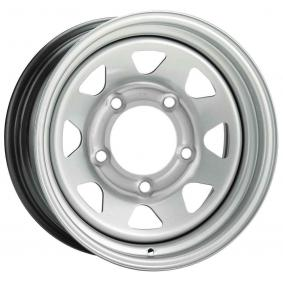 стоманен джант DOTZ DAKAR metallic silver 16 инча 6x139.7 PCD ET33 O2RPDS33