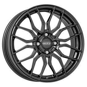 alloy wheel DOTZ LIMEROCK gun-metal-grey 17 inches 4x100 PCD ET44 OLRY2FA44RE