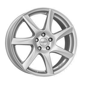 алуминиеви джант DEZENT TW брилянтно сребърно боядисани 16 инча 5x108 PCD ET50 TTWZHSA50E16