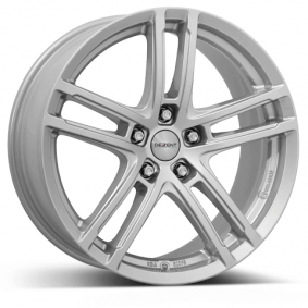 алуминиеви джант DEZENT TZ брилянтно сребърно боядисани 18 инча 5x105 PCD ET38 TTZ1ASA38E