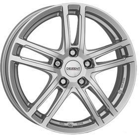 алуминиеви джант DEZENT TZ-c брилянтно сребърно боядисани 18 инча 5x108 PCD ET42 TTZGHSA42CE
