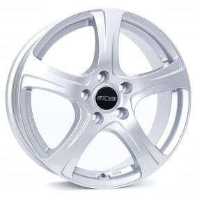 alloy wheel OXXO NARVI brilliant silver painted 16 inches 5x105 PCD ET40 OX03-651640-O5-07